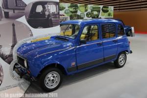 Pub pour une Renault 4L GTL pack Sixties