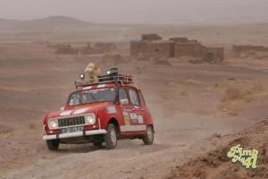 Ruines desert marocain