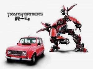 La 4L a la sauce transformers